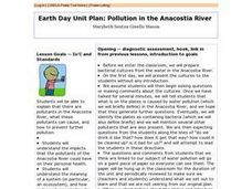 Earth Day Unit Plan: Pollution in the Anacostia River - Biology Teaching Thesis Lesson Plan