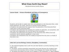 What Does Earth Day Mean? - Biology Teaching Thesis Lesson Plan