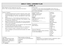 What A Trip! Lesson Plan