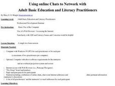Using Online Chats to Network Lesson Plan