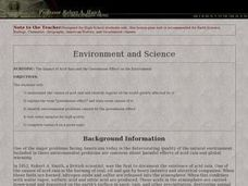 The Impact of Acid Rain and the Greenhouse Effect on the Environment Lesson Plan