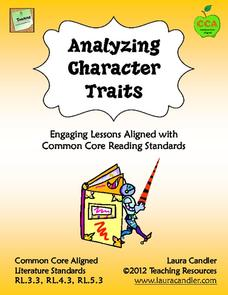 Analyzing Character Traits Lesson Plan