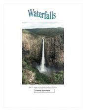 Waterfalls Lesson Plan