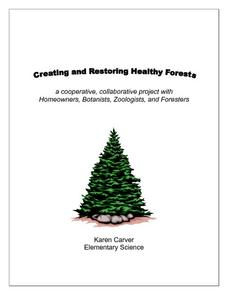 Creating and Restoring Health Forests Lesson Plan