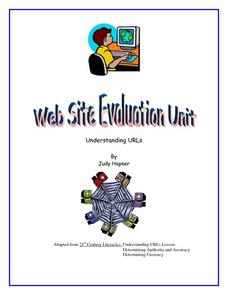 Understanding URLs Lesson Plan