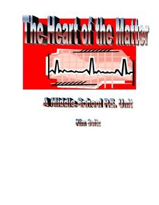 The Heart of the Matter Lesson Plan