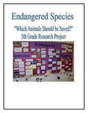 Which Animals Should Be Saved? Lesson Plan