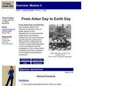 From Arbor Day to Earth Day Lesson Plan