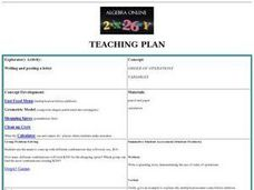 Writing and Posting a Letter Lesson Plan