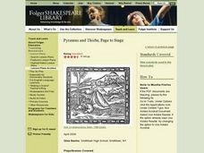 Pyramus and Thisbe, Page to Stage Lesson Plan