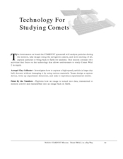 Technology For Studying Comets Lesson Plan