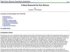 Urban Renewal in New Haven Lesson Plan