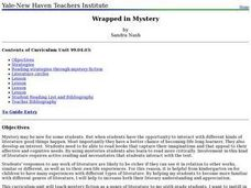 Wrapped in Mystery Lesson Plan