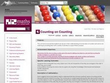 Counting on Counting Lesson Plan