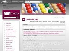 Ten in the Bed Lesson Plan