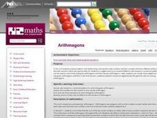 Arithmagons Lesson Plan