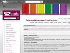 Ruler and Compass Constructions Lesson Plan