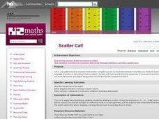 Scatter Cat! Lesson Plan