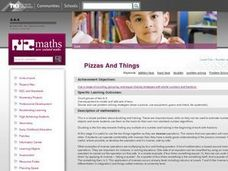 Pizzas And Things Lesson Plan