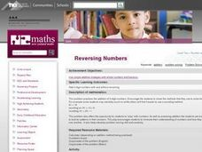 Reversing Numbers Lesson Plan