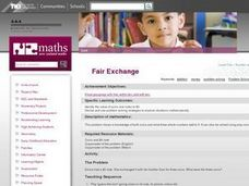 Fair Exchange Lesson Plan