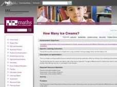 How Many Ice Creams? Lesson Plan
