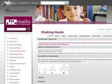 Shaking Hands Lesson Plan
