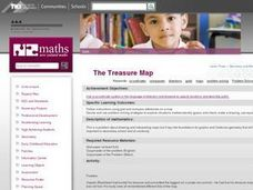 The Treasure Map Lesson Plan
