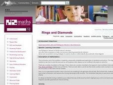 Rings and Diamonds Lesson Plan