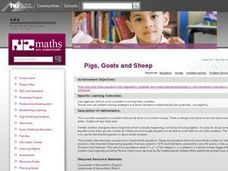 Pigs, Goats and Sheep Lesson Plan