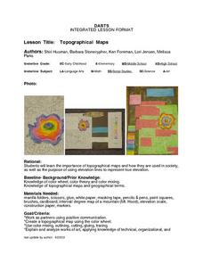 Topographical Maps Lesson Plan