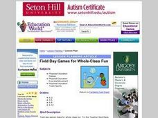 Field Day Activities Lesson Plan
