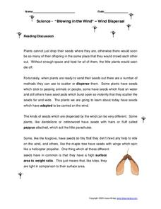 Blowing In the Wind Worksheet