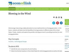 Blowing in the Wind Lesson Plan