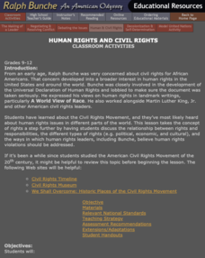 Human Rights And Civil Rights Lesson Plan