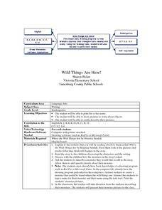 Wild Things Are Here Lesson Plan