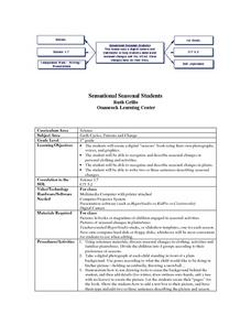 Sensational Seasonal Students Lesson Plan
