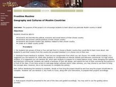 Geography and Cultures of Muslim Countries Lesson Plan