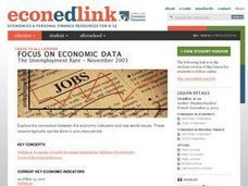 A Case Study: The Unemployment Rate - November 2003 Lesson Plan