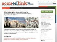 Economics: The Federal Reserve and Monetary Policy Lesson Plan