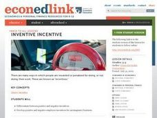 Economics: Inventive Incentive Lesson Plan