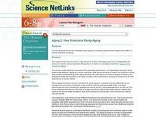 How Scientists Study Aging Lesson Plan