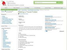 Make a Travel Folder Lesson Plan