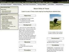 Bison Sites of Texas Lesson Plan