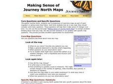 Making Sense of Journey North Maps Lesson Plan