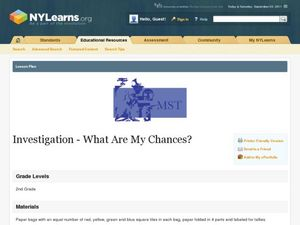 Investigation--What Are My Chances? Lesson Plan