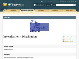 Investigation - Distribution Lesson Plan