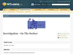 Investigation- On The Surface Lesson Plan
