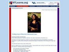 The Many Faces of Mona Lisa Lesson Plan