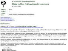 Global Happiness Through Music Lesson Plan